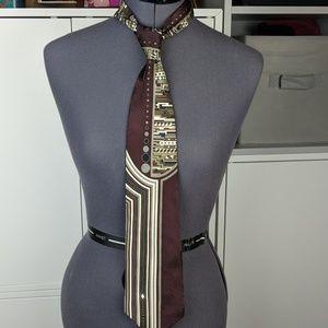 Vintage 90s silk tie